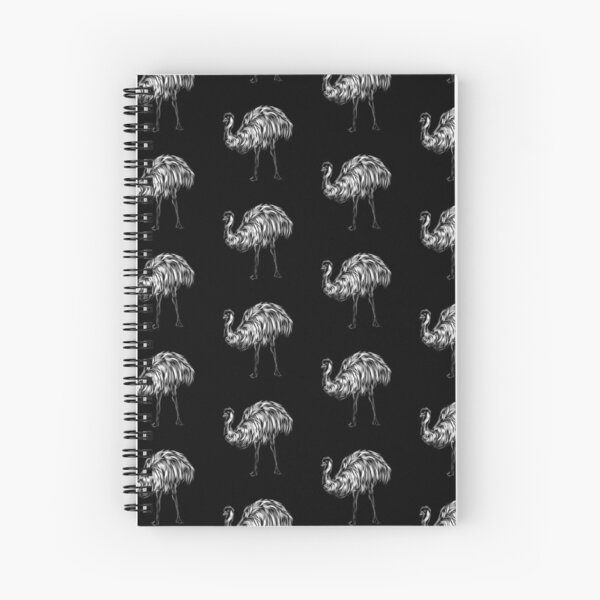 Emu  Spiral Notebook