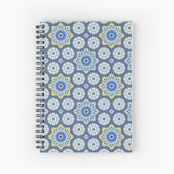 Arabic Tile IV Spiral Notebook