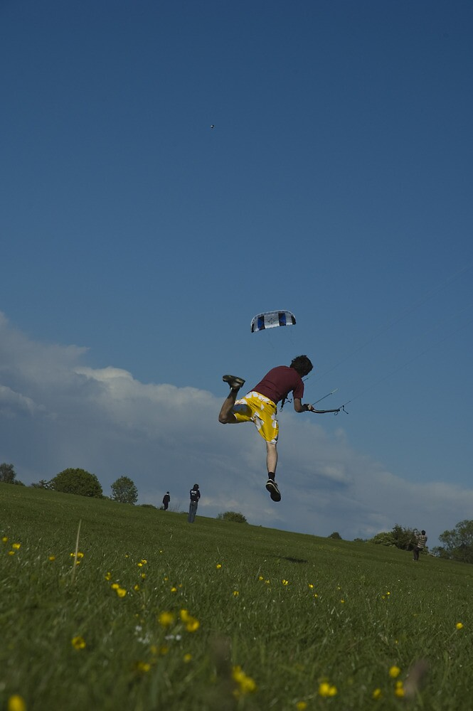Kite Take Off by Crispel