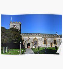 Uplyme Village Church Poster