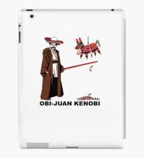 Obi-Juan Kenobi iPad Case/Skin