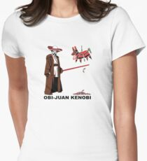 Obi-Juan Kenobi Women's Fitted T-Shirt
