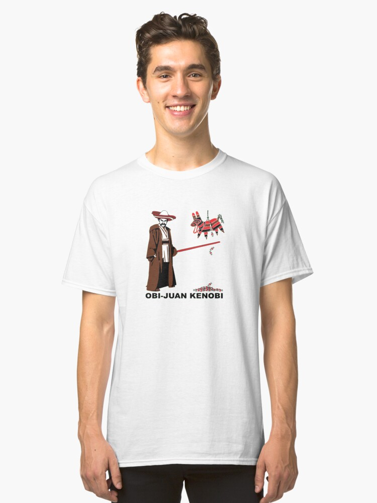 Obi-Juan Kenobi Classic T-Shirt Front