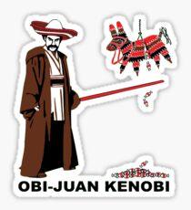 Obi-Juan Kenobi Sticker