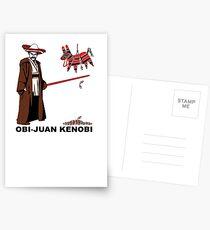 Obi-Juan Kenobi Postcards