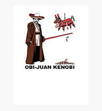Obi-Juan Kenobi Photographic Print