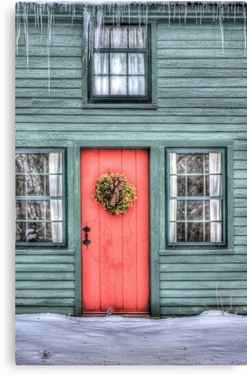 The Red Door by Kim McClain Gregal