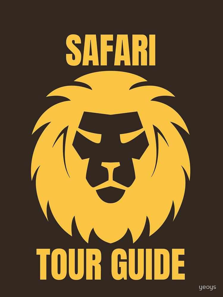 Safari Tour Guide - Cool Safari Guide von yeoys