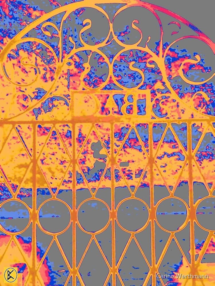 Wrought iron Gate by Carine Werthmann