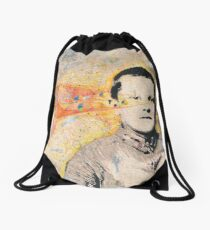 Denny In The Flow Drawstring Bag