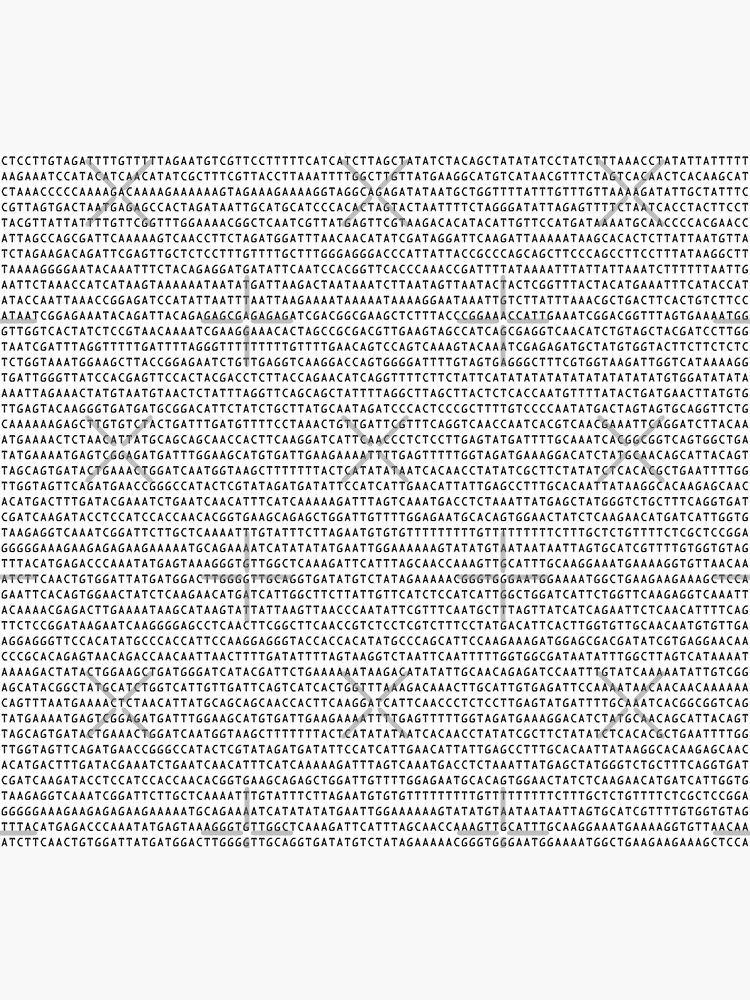 DNA Sequence - The Genetic Code by Geek-topia