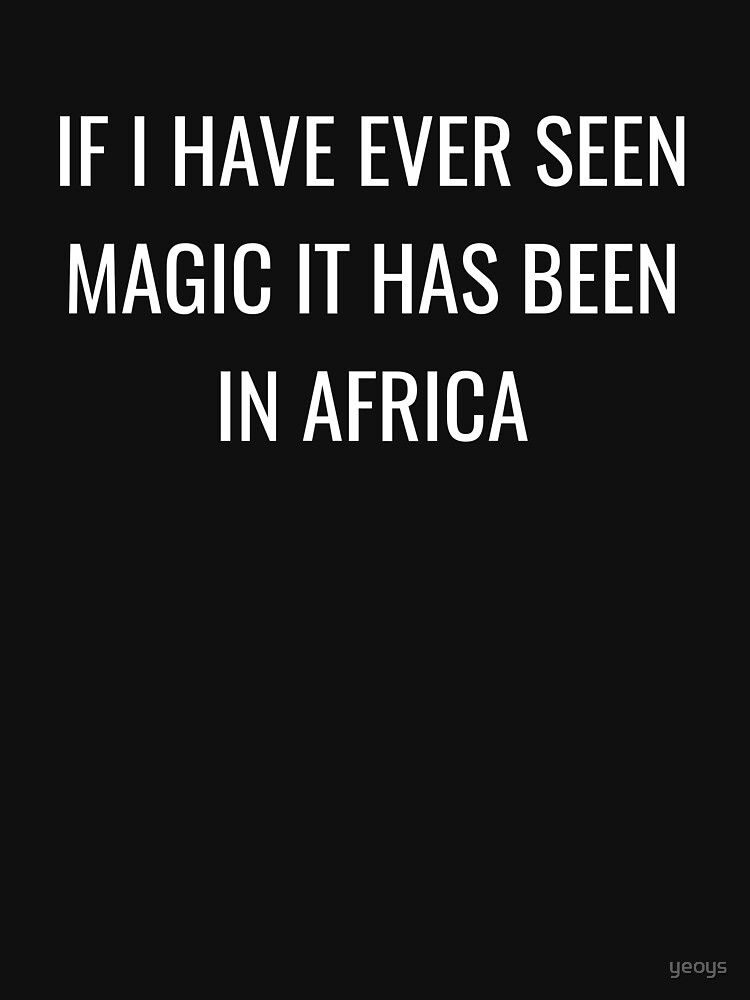 If I Have Ever Seen Magic In Africa - Cool Safari by yeoys