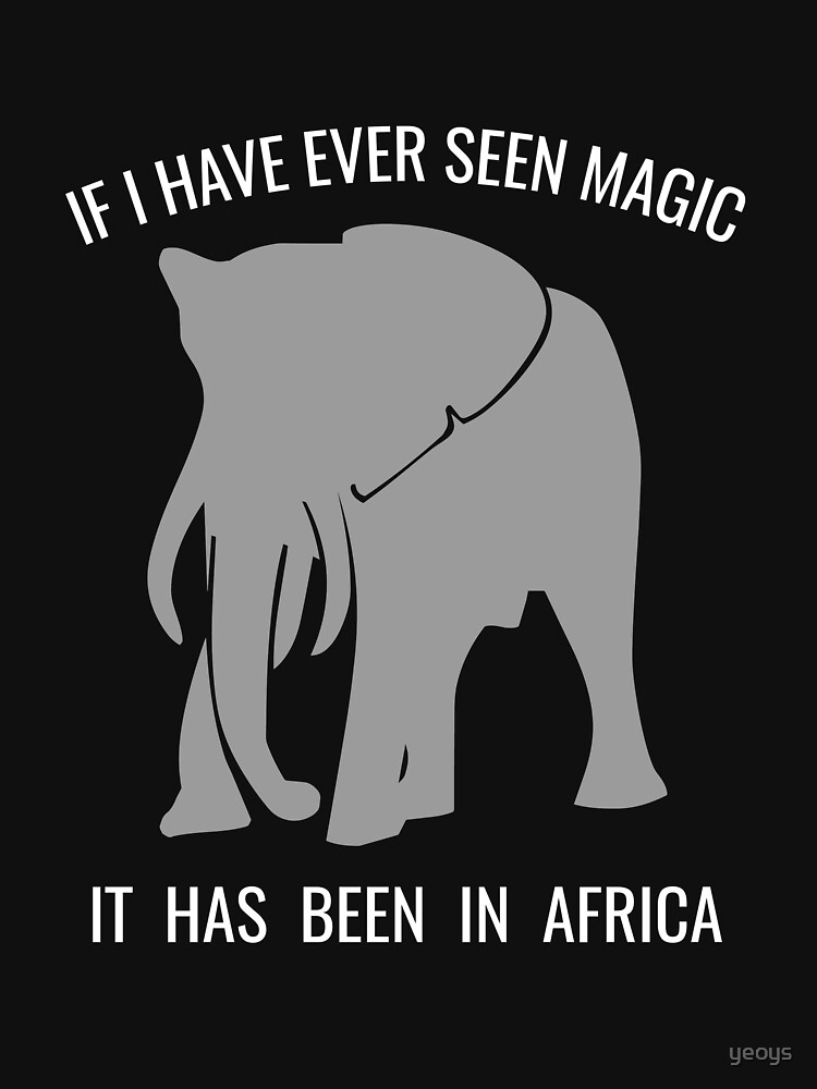 If I Have Ever Seen Magic In Africa - Cute Safari by yeoys