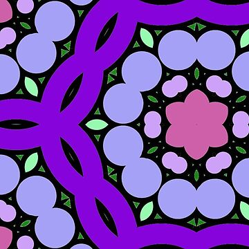 Gorgeous retro purple funk by incurablehippie