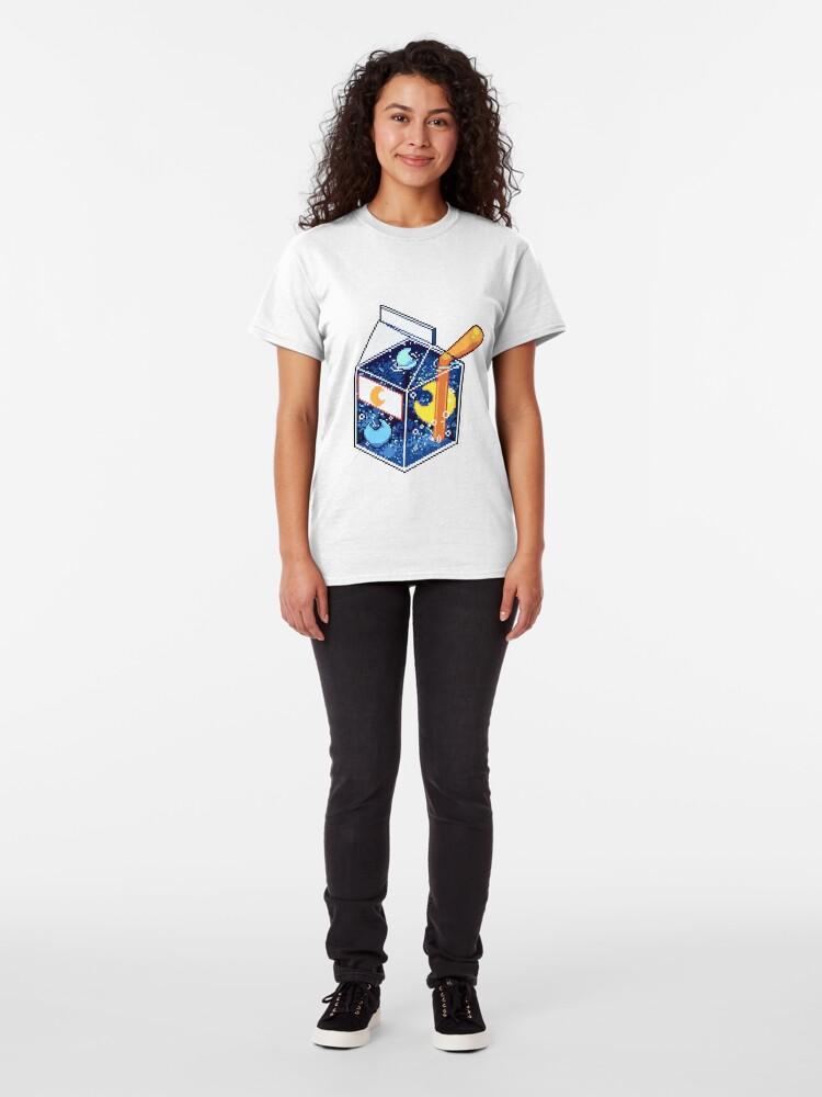 Alternate view of Blue Moon Nebula Juice Classic T-Shirt