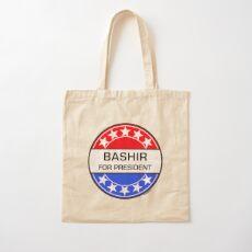 BASHIR FOR PRESIDENT Cotton Tote Bag