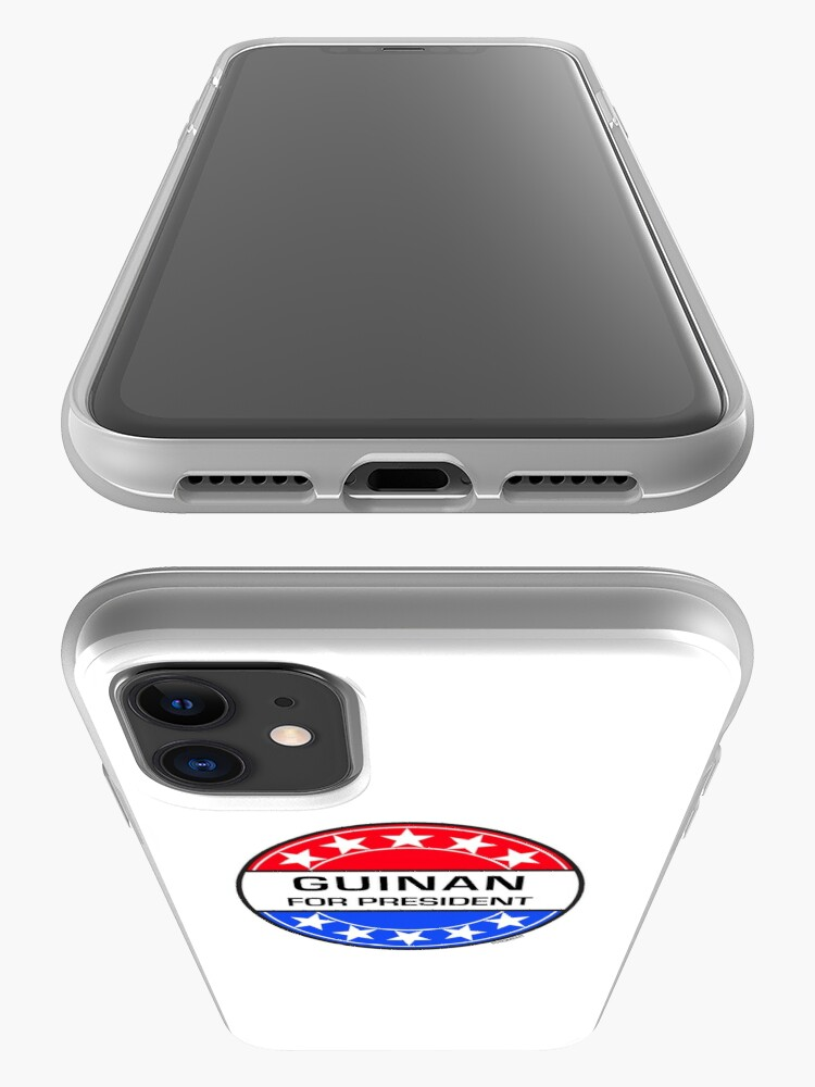 Alternate view of GUINAN FOR PRESIDENT iPhone Case & Cover
