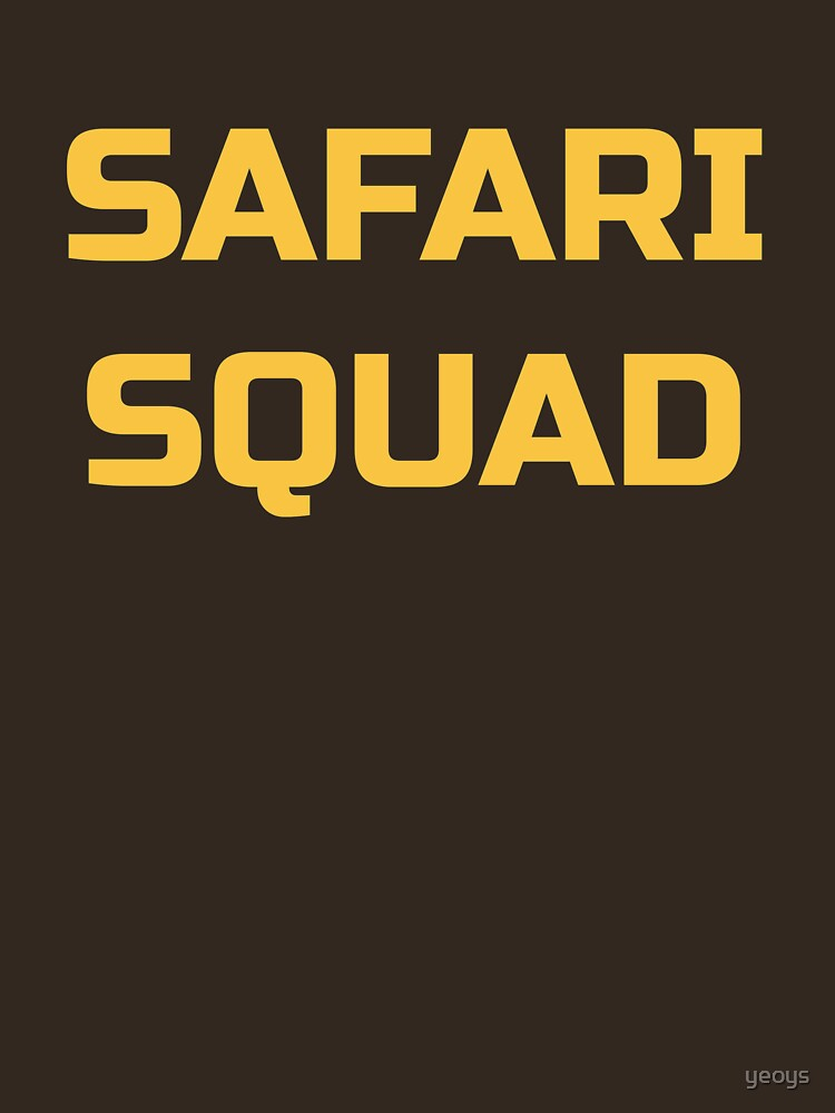Cool Travel Africa - Safari Squad by yeoys