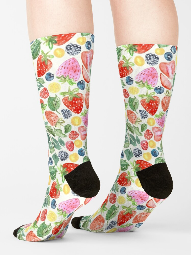 Alternate view of Summer Berries  Socks