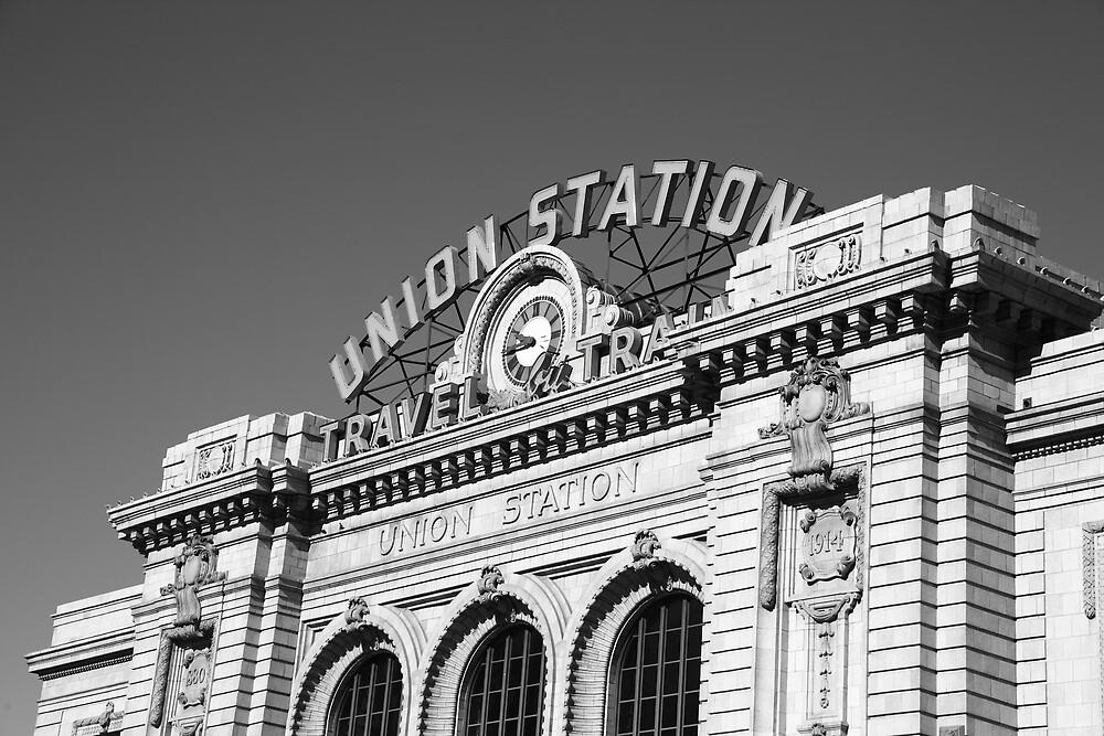 Denver - Union Station by Frank Romeo