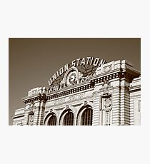 Denver - Union Station Photographic Print
