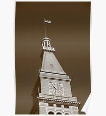 Historic D & F Clocktower - Denver Poster