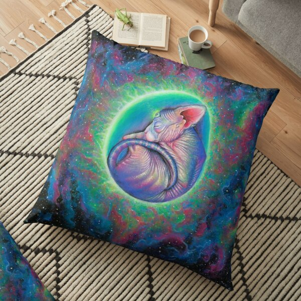 Rebirth Floor Pillow