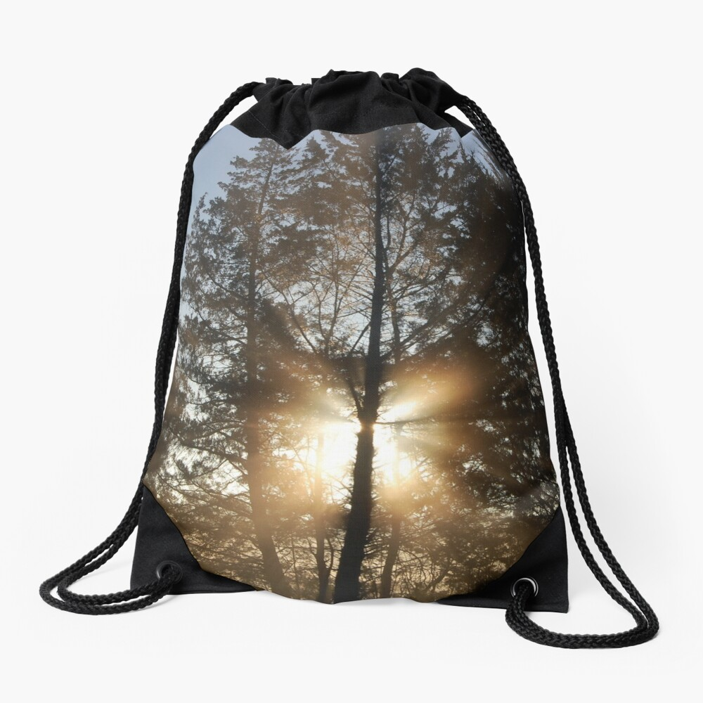 Good morning, sunshine! Drawstring Bag
