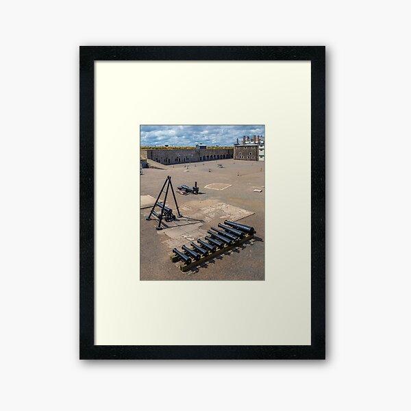 Parade Ground Framed Art Print