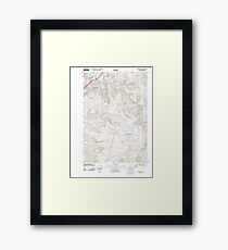 USGS Topo Map Oregon Oregon City 20110826 TM Framed Print