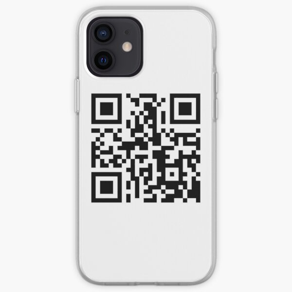 Funny QR Code linking to PornHub iPhone Soft Case