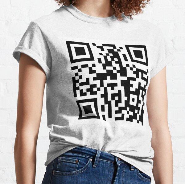 Code QR drôle reliant à PornHub T-shirt classique