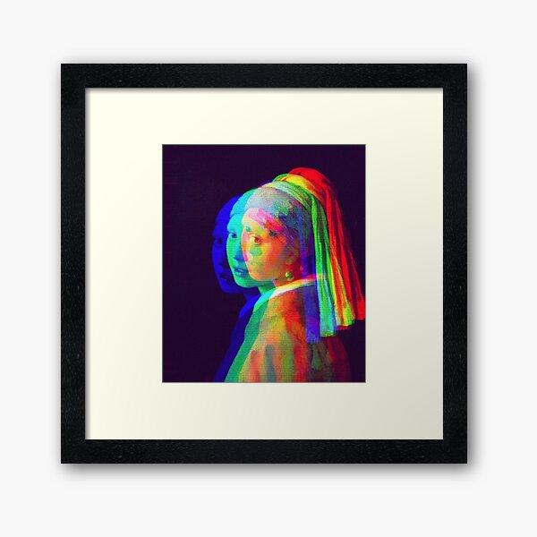 Girl with a Pearl Earring Framed Art Print