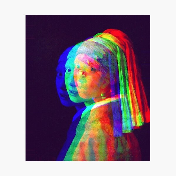 Girl with a Pearl Earring Photographic Print