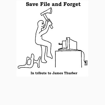 Save File and Forget (written work  PG) by mordechai