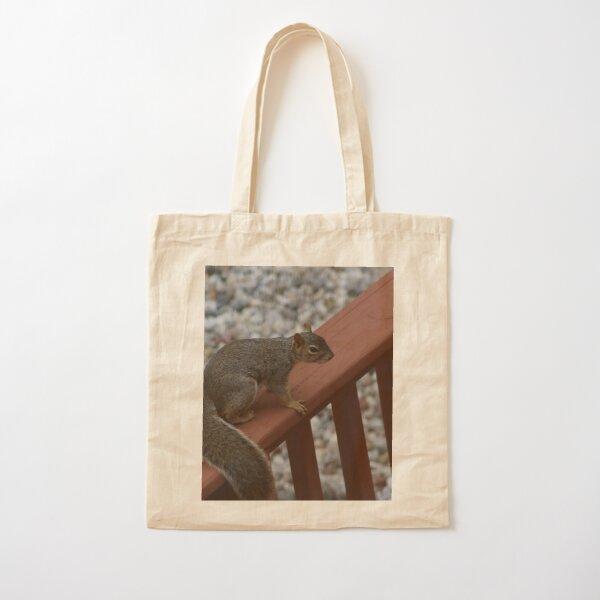 Squirrel Cotton Tote Bag