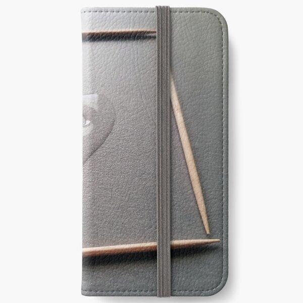 Water heart iPhone Wallet