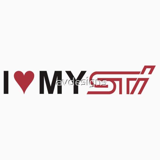 TShirtGifter presents: I Love My STI