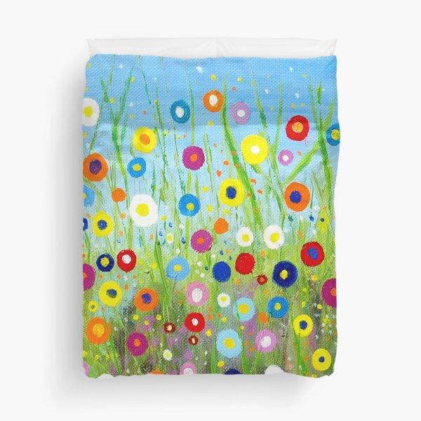 Happy Little Garden 2 Duvet Cover