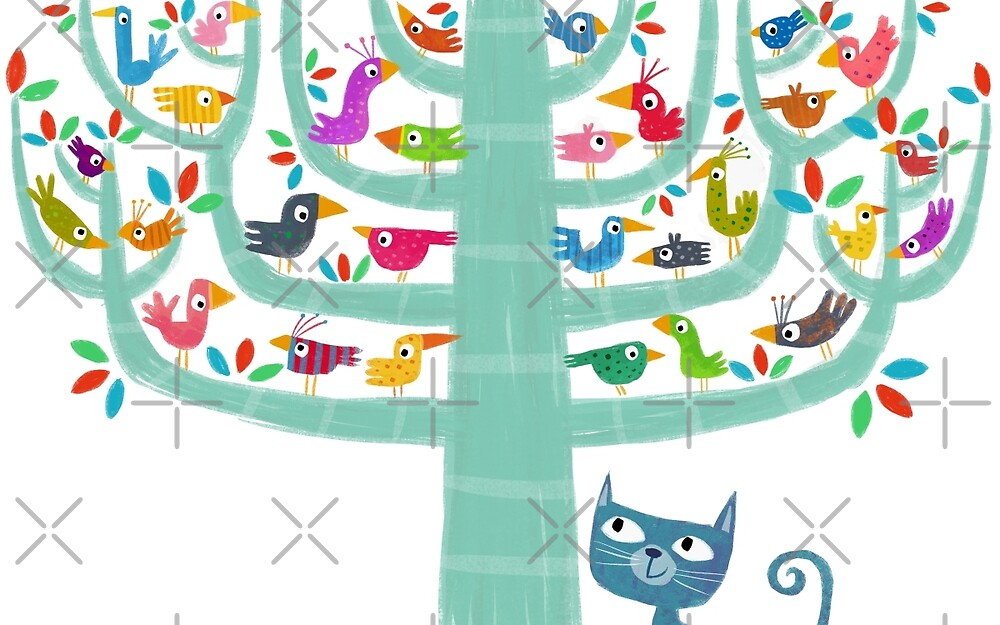 29 birds and a cat by tonyneal