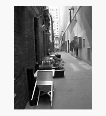 The Laneway Connection Photographic Print