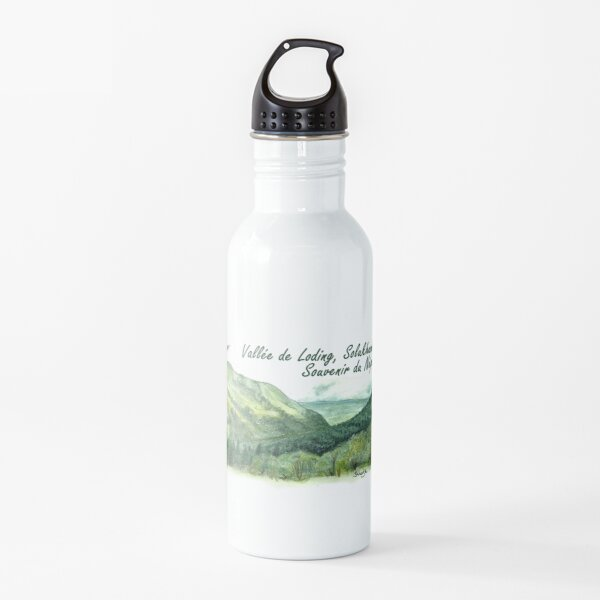 the Loding valley, in Solukhumbu, Nepal Water Bottle