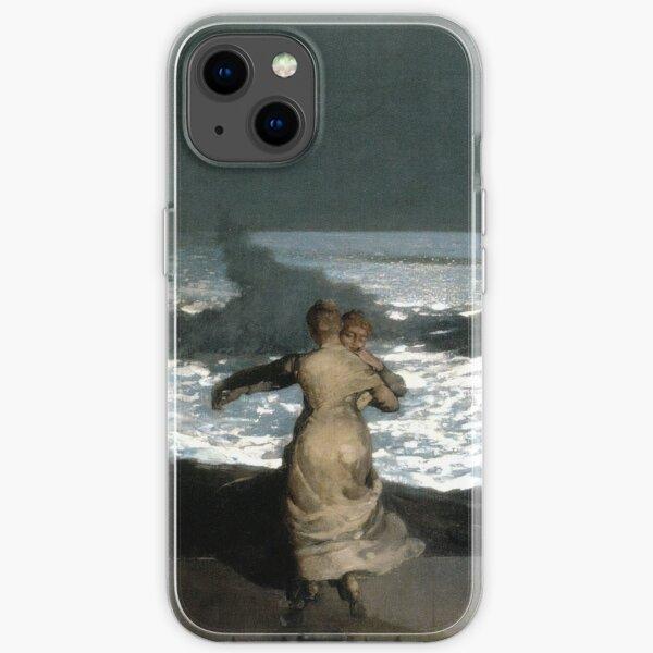 Winslow Homer - Summer Night iPhone Soft Case