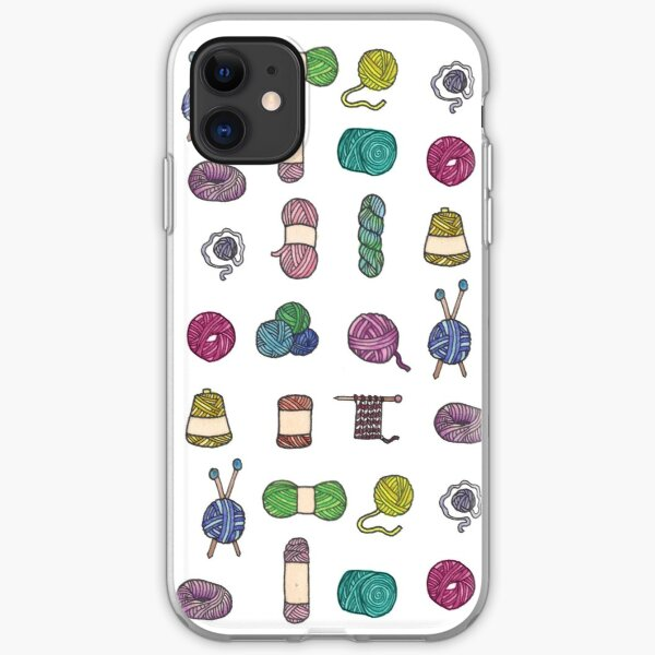 Balls of Yarn - Knitting Watercolor iPhone Soft Case