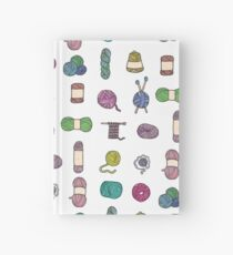 Balls of Yarn - Knitting Watercolor Hardcover Journal