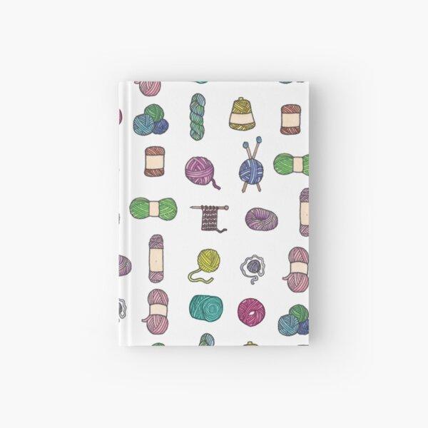 Balls of Yarn - Knitting Watercolor Hardcover Journal