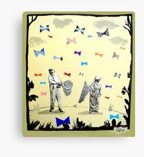 butterflies & bowties Canvas Print