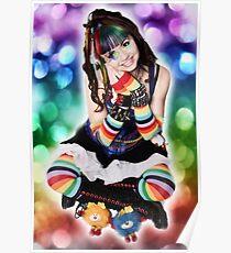 A Dak Rainbow Brite amd Sprites - Kalli McCandless Poster