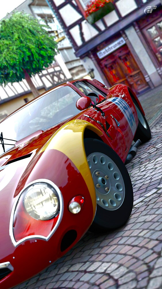 Alfa Romeo HDRI from GT5 by CWR63