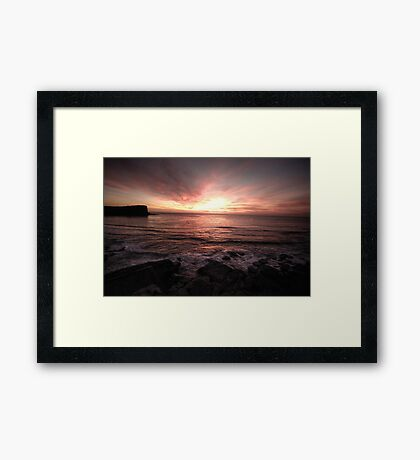 Hint Of Day - Avalon Beach, Sydney - The HDR Experience Framed Print